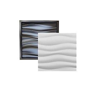 Forma Molde para Gesso 3D e Cimento Modelo Perúgia 49x49 ABS - Esquadro Perfeito