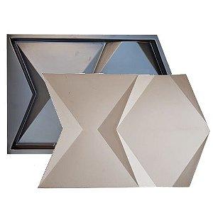 Forma Molde para Gesso 3D e Cimento Modelo Valetta 39x59 ABS - Esquadro Perfeito