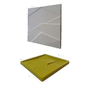 Forma Molde pra Gesso 3D e Cimento Silicone Modelo Mini Saronno 29x29 - Esquadro Perfeito