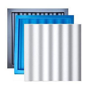 Forma Molde para Gesso 3D e Cimento ABS Modelo Palestra 29x29 ABS + EVA- Esquadro Perfeito
