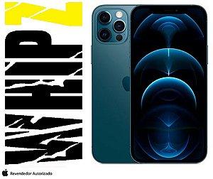 "iPhone 12 Pro Max 128GB Azul Pacífico iOS 5G Wi-Fi Tela 6.7"" Câmera - 12MP + 12MP + 12MP + Sensor LiDAR"