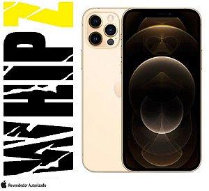 "iPhone 12 Pro Max 512GB Dourado iOS 5G Wi-Fi Tela 6.7"" Câmera - 12MP + 12MP + 12MP + Sensor LiDAR"