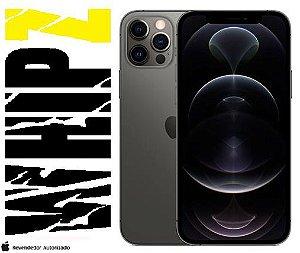 "iPhone 12 Pro Max 128GB Grafite iOS 5G Wi-Fi Tela 6.7"" Câmera - 12MP + 12MP + 12MP + Sensor LiDAR"