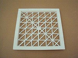 Tela de Ventilação da Unidade Condensadora Pq