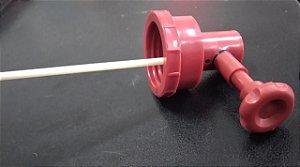 Registro regulador do fluxo de calda Vermelho