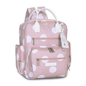 Mochila Urban Bubbles Rosa - Masterbag baby
