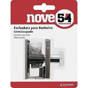 Fechadura Para Banheiro Livre/Ocupado 954 - NOVE 54