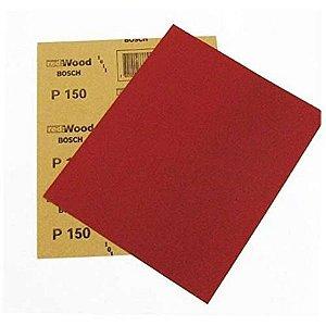 Lixa Manual Vermelha Madeira Massa 150 BOSCH