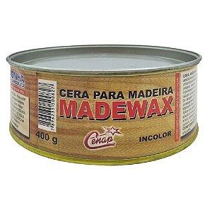 Cera Madewax Incolor para Madeira 400G - Noronha