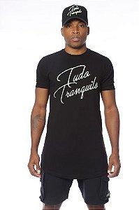 Camiseta Tudo Tranquilo Rettrô Slide