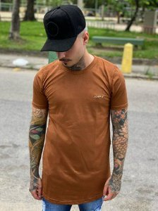 Camisa Long Suede Nifty Marrom