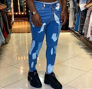 Calça Jeans Nifty Brush Stroke
