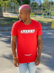 Camiseta Nifty Confusing Red
