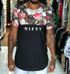 Camiseta Nifty Divided Flowers Up01
