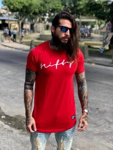 Camiseta Nifty UseNifty Red/White