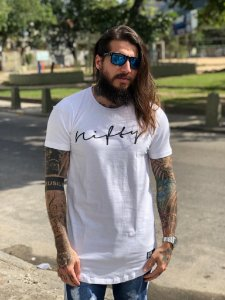 Camiseta Nifty UseNifty White/Black