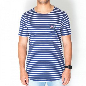 Camiseta Dabliu Costa Dab x Titto Stripes Blue