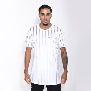 Camiseta Dabliu Costa Stripes White