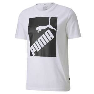 Camiseta Puma Big Logo White