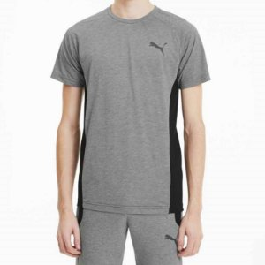 Camiseta Puma Gray Tee Medium Heather