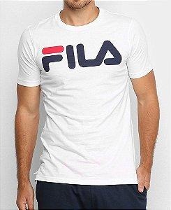 Camiseta Fila Letter Branca