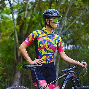 Macaquinho Ciclismo Carbon - DA VINCI