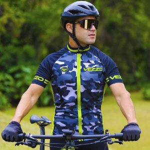 Camisa Ciclotour Masculina CAMOUFLAGE