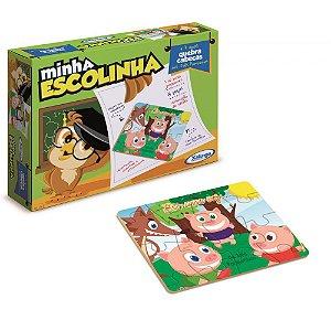 Quebra-Cabeças Três Porquinhos - MINHA ESCOLINHA