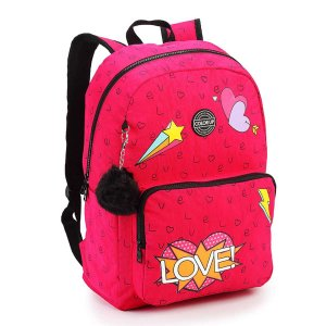Mochila Juvenil Seanite LOVE (MJ15395)