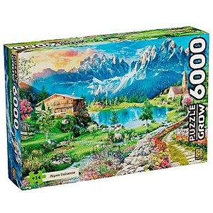 Puzzle 6.000 peças Grow - ALPES ITALIANOS