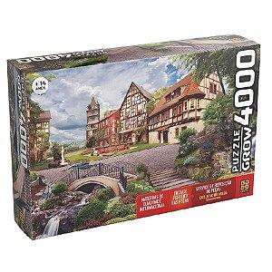 Puzzle 4.000 peças Grow - VILA EUROPEIA