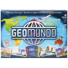 GEOMUNDO - Jogo de Tabuleiro
