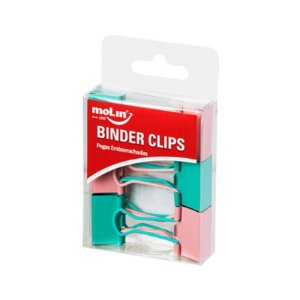 Binder Clips Soft Touch 2 cores
