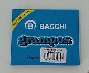 Grampos 24/6 Galvanizados c/ 1000un