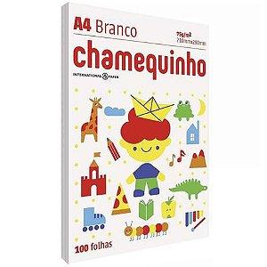 Folha A4 Chamequinho 100fls