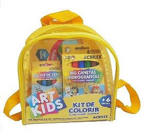 Kit Infantil Para Colorir C/ 4 Peças