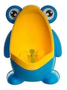 Mictório infantil Sapinho (azul) Stand Up (fica em pé/sem fixação) - Kababy - Cód. 22004B