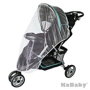 Mosquiteiro para carrinho (branco) - Kababy - Cód. 10002B