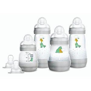 Kit 4 Mamadeira MAM Easy Start (Cinza) - Anti-cólica e Auto-esterilizável
