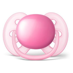 Chupeta Avent Ultra Soft 6 a 18 meses Unitária (Rosa) - SCF415/12 - Philips Avent