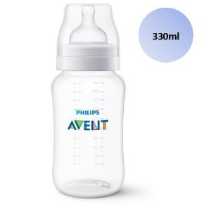 Mamadeira Avent Clássica Anticólica 330ml - SCF816/17 - Philips Avent