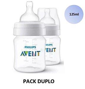Mamadeira Avent Clássica Anticólica PACK DUPLO 125ml - SCF810/27 - Philips Avent