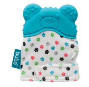 Luvinha mordedor para bebê Urso (Azul) - Buba - Cód. 10720