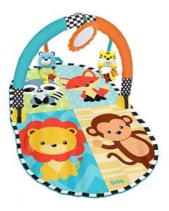 Tapete de atividades para bebê Amiguinhos da Selva - Buba - Cód. 8564