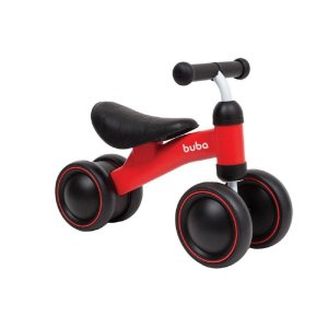 Bicicleta Andador de Bebê 4 rodas sem pedal - Buba - Cód. 10728