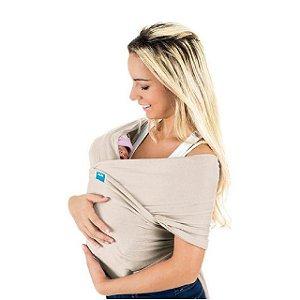 Sling wrap Sling para carregar bebê (bege) - Kababy