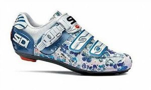 Sapatilha Sidi Genius 5 Pro Woman White/Blue/Flower (2010)