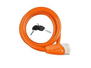 Cadeado Zoli Espiral 12x1850mm com Chave