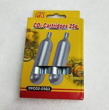 Cartuchos de CO2 25g C/3 Unidades