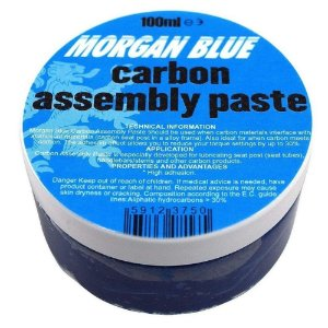 Graxa Morgan Blue Carbon Assembly Paste 100g Azul